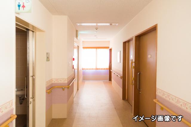老人施設イメージ廊下02
