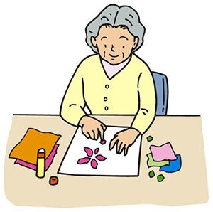 老人ホーム 折り紙