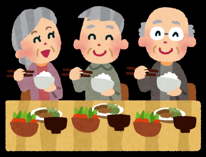 老人ホーム 食事代