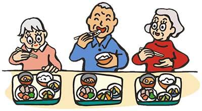 グループホーム 食事