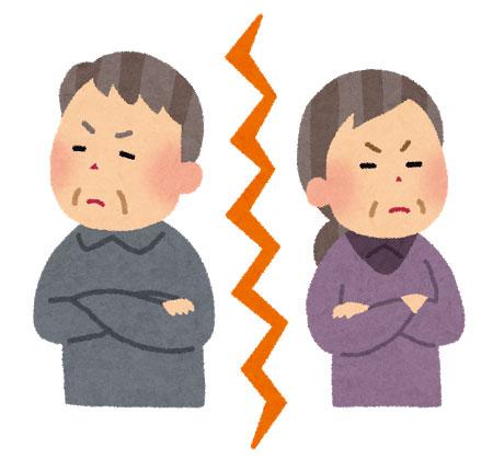 熟年離婚で貧困高齢者