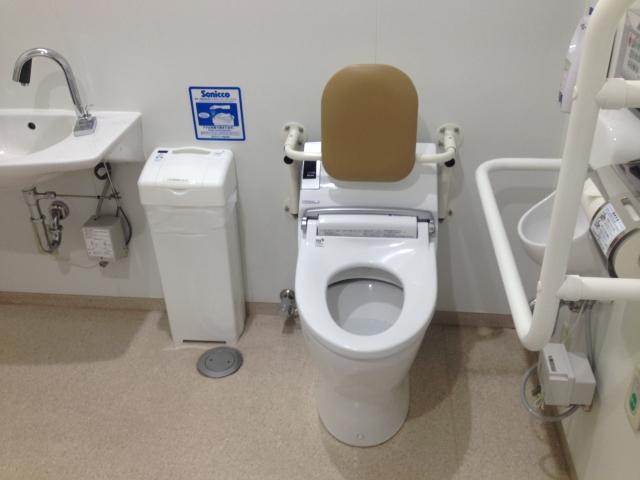 トイレ付居室のある老人ホーム