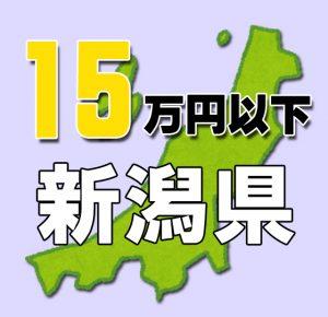 新潟県15万円以下の老人ホーム・介護施設
